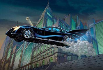 """Maszyna Batman ( """"Batmobil""""): tworzenie pojazdów do filmu o Batmanie"""