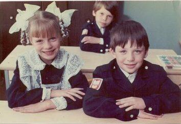 uniformi scolastiche URSS: descrizione, foto
