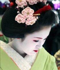 Blumen kanzashi – Japanische Kunst