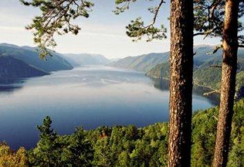 Attrazioni: Lake Teletskoye in Altai