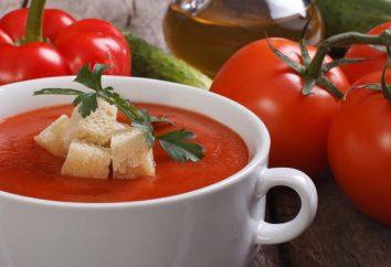 gaspacho chaud – variation inhabituelle de la soupe classique