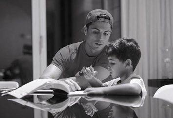 El hijo de Cristiano Ronaldo. Que trae el niño?