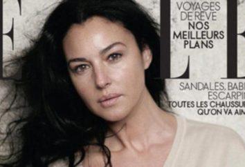 """Monika Beluchchi bez makijażu i """"Photoshop"""". Aktorka Monica Bellucci"""