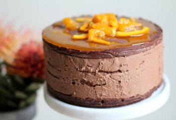 Torta al cioccolato-arancione: le migliori ricette, soprattutto la cucina e recensioni