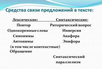 Medios de comunicación propuestas en el texto: los tipos y características