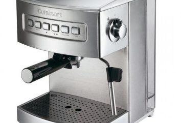 Macchina caffè carruba: selezione, descrizione, vantaggi e svantaggi