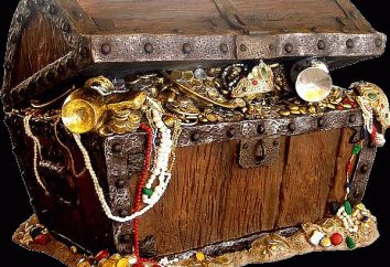 Tesouro. Qual é o tesouro dos navios e do tesouro na Terra?