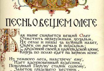 """""""Pieśń Olega Mądrego"""": podsumowanie. """"Pieśń Olega Mądrego"""" – poemat przez A. S. Puszkina"""