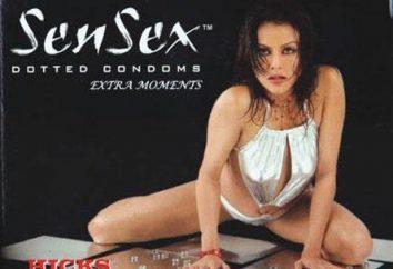 Prezerwatywy Sensex – «gorący» i bezpiecznego seksu jest gwarantowana!