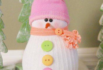 Como fazer uma meia de boneco de neve? Nós aprendemos!