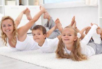 gimnastyki korekcyjnej po spaniu w przygotowaniu, w środku i w grupie starszej