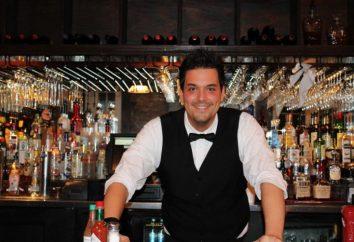 Fonctions barman. Les principales fonctions du serveur-barman