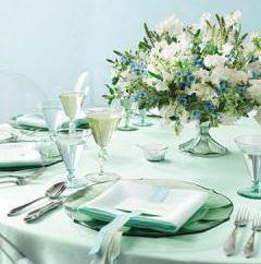 Mint Hochzeit: Dekor-Ideen