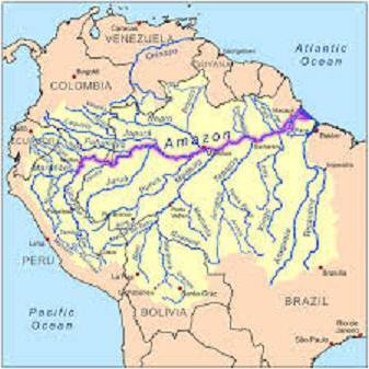 Amazonas Länge