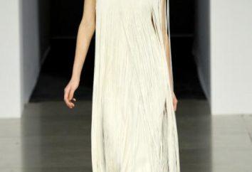 Realização de ternura: um vestido com franja