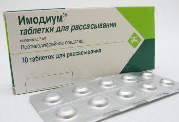 """Drug """"Imodium"""": indicazioni per l'uso, composizione e proprietà"""