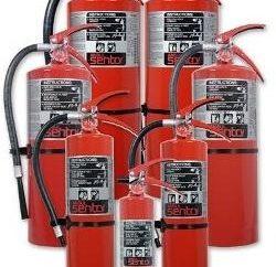 La elección de un extintor de incendios de coches