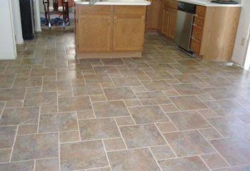 Revêtement de sol pour la cuisine: les règles du choix optimal