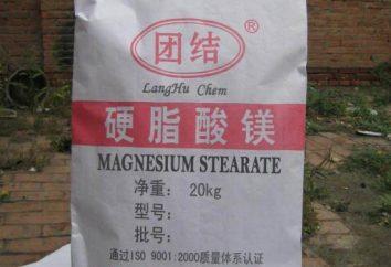 stéarate de magnésium: plus utiles ou nuisibles?