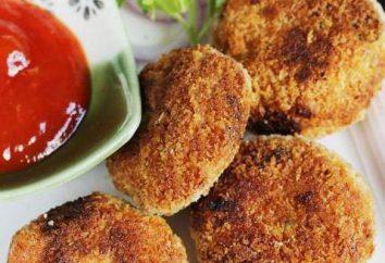 Escalopes de poulet avec du chou: simple et délicieux!
