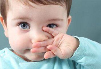 ranho Pink: as causas das crianças e tratamentos