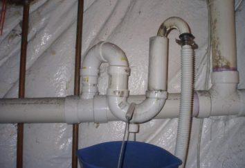 Prawidłowe podłączenie pralki do kanalizacji