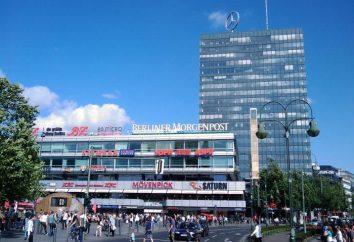Centra handlowe w Berlinie: adresy, zdjęcia, opinie