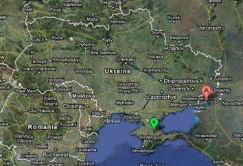 ¿Dónde está Taganrog en el mapa de Rusia? características geográficas