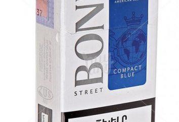 """Papierosy """"Bond"""": historia marki i typu papierosów"""