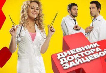 """""""Dr. Zaitseva Diary"""": atores e papéis"""