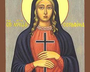 Patronki św Seraphim: ikona, modlitwa, zdjęcie