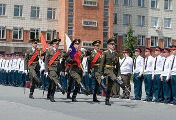 Novosibirsk Escuela de Mando Superior Militar: especialidad