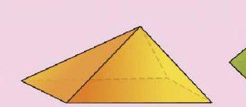 Come calcolare l'area di una piramide: la base, laterale e completa?
