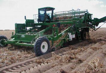 Kartoffelvollernter. Landmaschinen