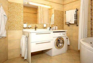 Sumidero para lavadora con la parte superior: los pros y los contras de la combinación