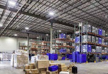 Illuminazione LED industriale: soffitto, sospesi