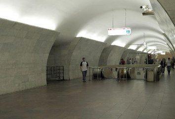 Características de la estación de metro Tverskaya