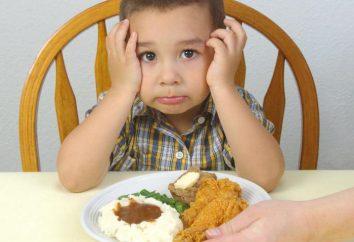 O que fazer: a criança se recusa a comer? Causas e consequências