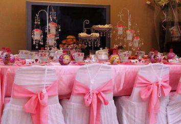 Cumpleaños en estilo de la princesa: ideas de diseño de escenario