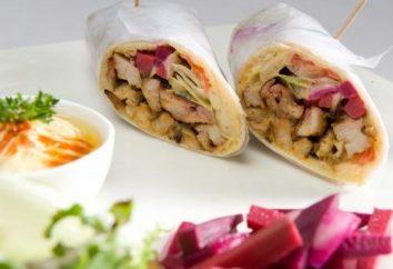Shawarma em casa com frango: Receita