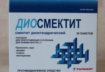 """""""diosmectita"""": instrucciones de uso, precio, y las revisiones"""