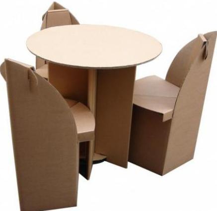 Wie machen Kartonmöbel für Puppen: Muster, Anleitungen