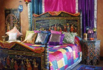 Sypialnia w stylu orientalnym. Design projekt sypialni (zdjęcia)