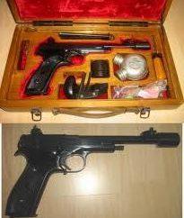 Pistolet Margolin – opis, charakterystyka