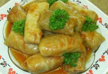 Golubtsy-półprodukty: jak gotować z pysznym warzywnym bulionem