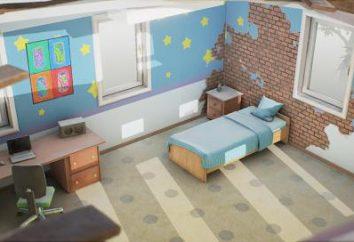Die Zusammensetzung des Design-Projekt einer Wohnung, Haus, Büro