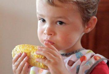 ¿A qué edad se puede incluir maíz hervido en la dieta de un niño?