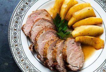 Carne di maiale con le mele: ricette