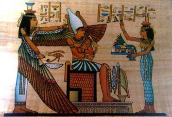 Co jest pomalowany w starożytnym Egipcie? Przekonajmy się