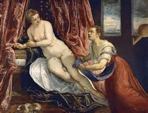 Autoportret przez Tintoretto – próbki warsztatu malarskiego